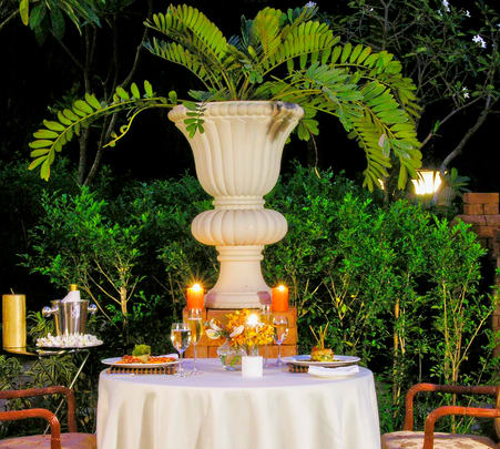 Romantic Dinner under the Stars at Taj Westend