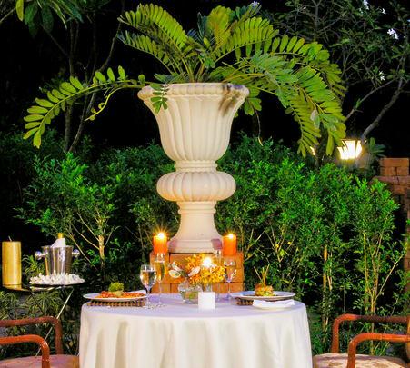 Romantic Dinner under the Stars at Taj Westend