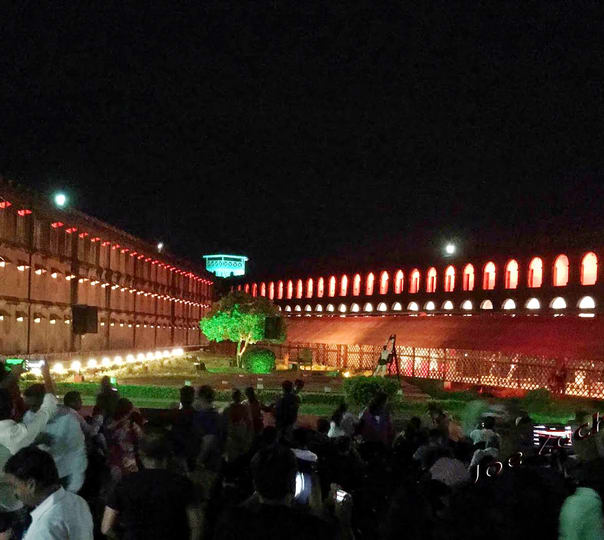 Visit Cellular Jail and Watch the Light and Sound Show