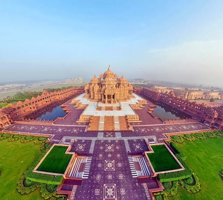 Akshardham Light & Water Show with Guide-flat 28% off