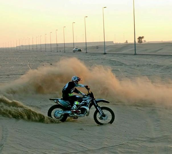 Dirt Biking in Dubai