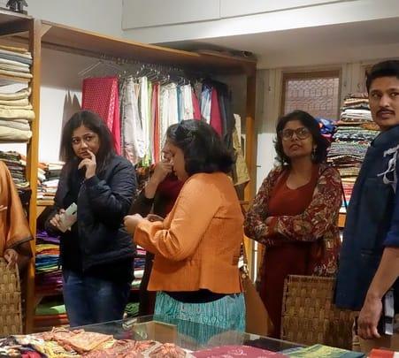 Textile Trail in Delhi