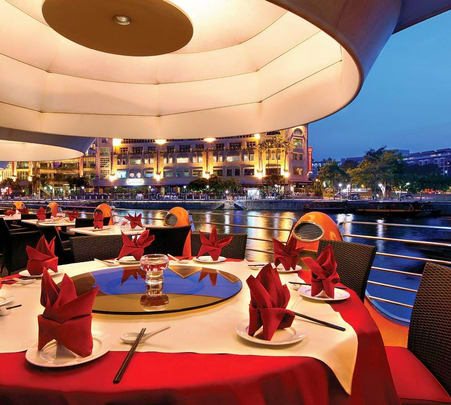 Dining Experience at Quayside Seafood Restaurant in Clarke Quay