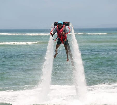 Experience Jet-Pack in South Kuta, Bali