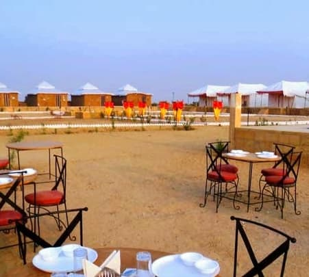 Stay in Lakhamana Desert Camp in Jaisalmer