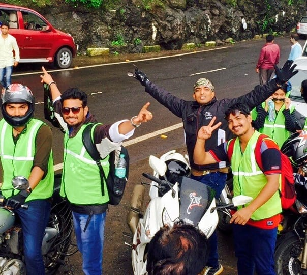Bike ride to Lavasa