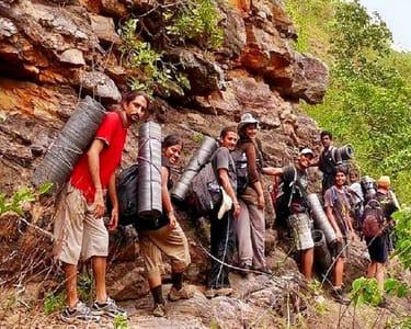 Adventure Stay and Trek to Tambdi Surla Waterfall