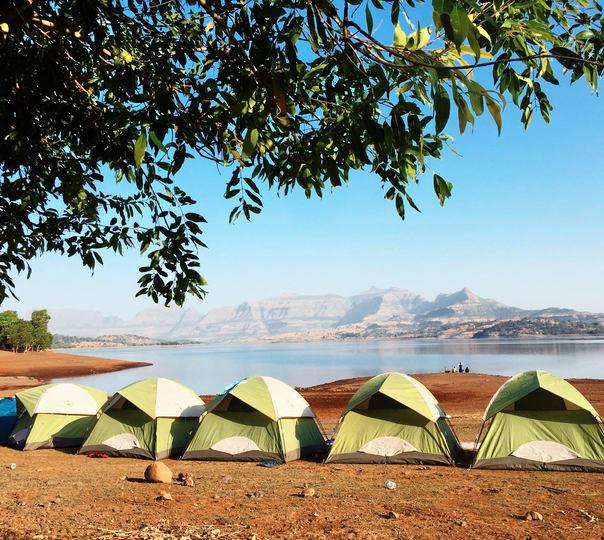Camping Beside the Bhandardara Lake