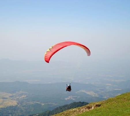 Tandem Paragliding in Kamshet