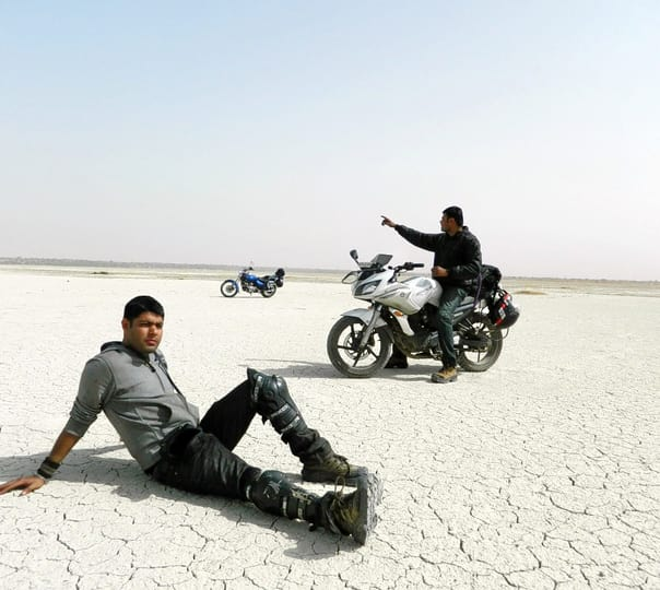 Motor Cycle Trip to Sambhar Lake