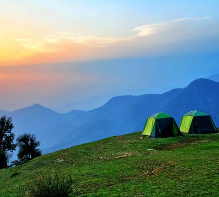 Kanatal Camping Around Oak Trees, Uttarakhand Flat 22% Off