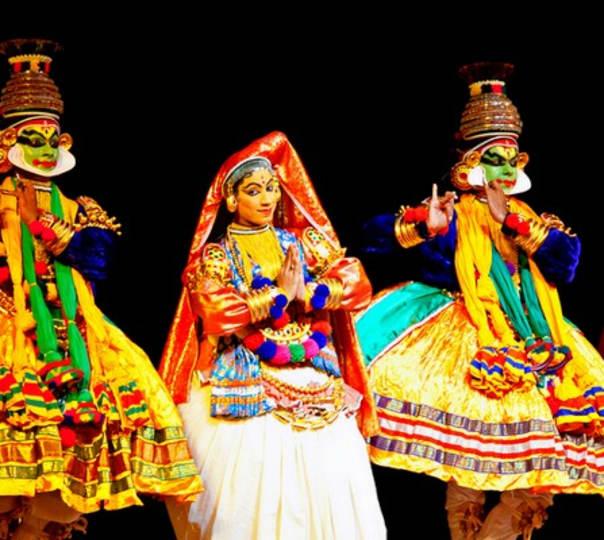 Kathakali in Thekaddy