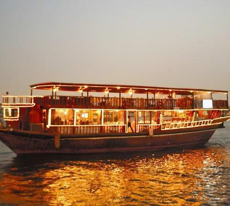Dhow Cruise Trip at Dubai Marina