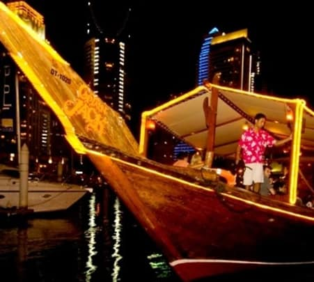 Captain Jack Dhow Cruise in Dubai