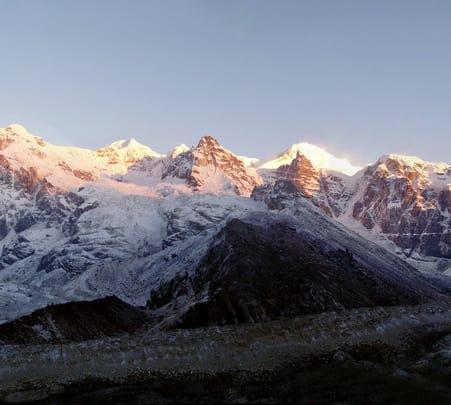 Trekking in Rupin Pass