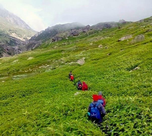 Pin Parvati Trek 2017, Himachal Pradesh