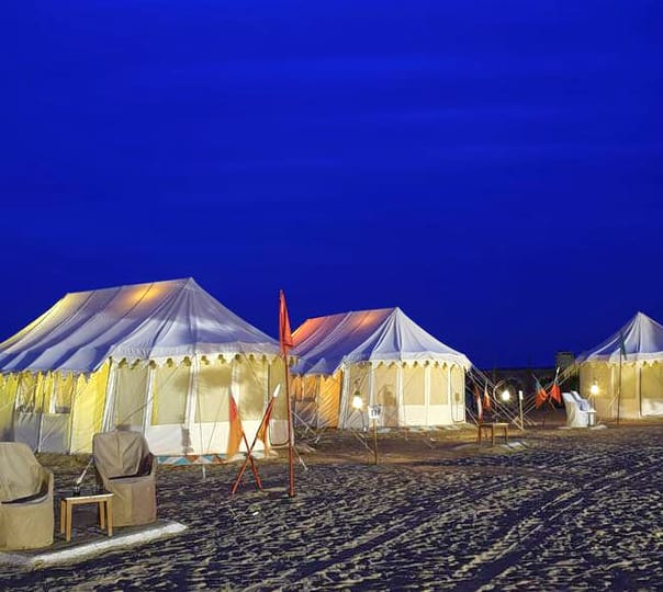 Combo: Desert Camping in Jaisalmer with Camel Safari and Cultural Performance