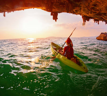 Ao Thalane Sunset Kayaking with Bbq Flat 25% off