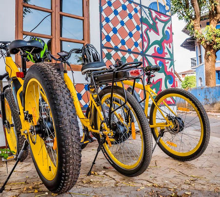 Food Trails of Panaji with E-biking