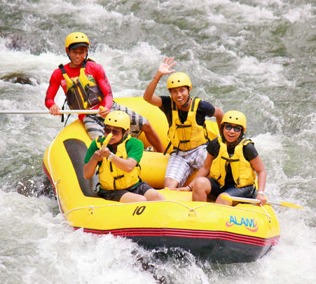 White Water Rafting at Ubud in Bali