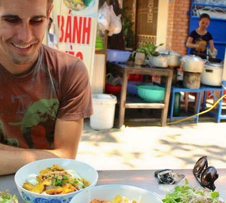 Danang Cycling Food Tour in Vietnam