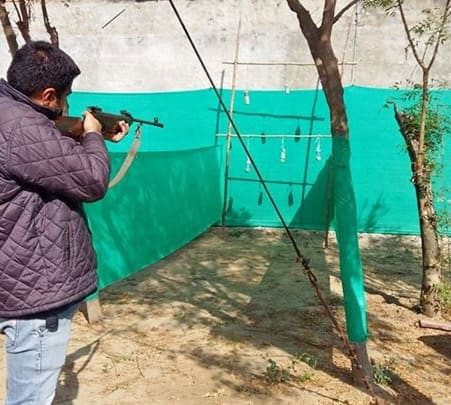 Archery and Rifle Shooting in Bharatpur