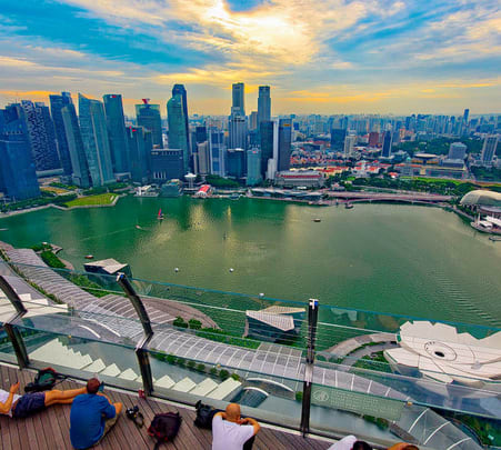 Combo: Marina Bay Sands Skypark with Gardens by the Bay Flat 10% off