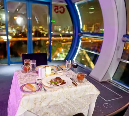 Singapore Cable Car Sky Dining - Flat 17% off