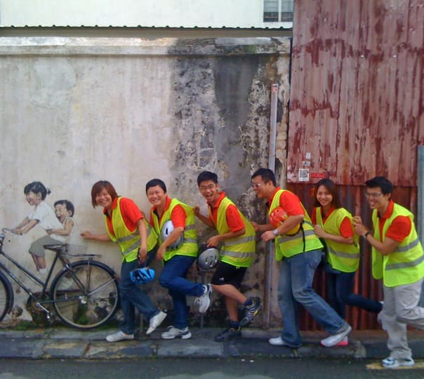 UNESCO George Town Bicycle Tour in Malaysia