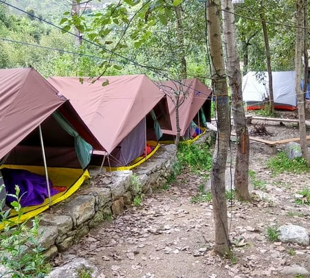 Riverside Camping in Tirthan Valley, Himachal Flat 33% off