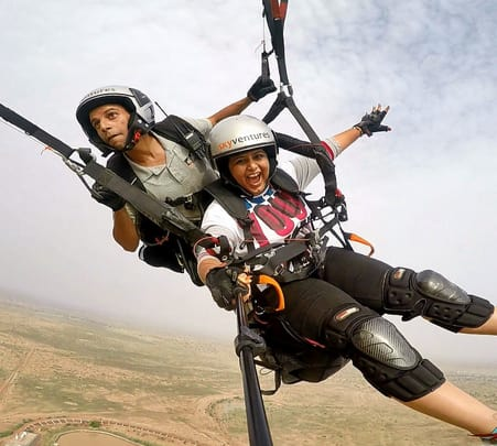 Paragliding at Jodhpur