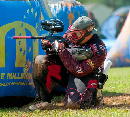 Paintball in Anjuna, North Goa