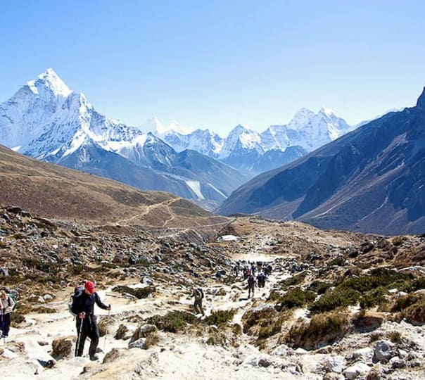 Trek to Everest Base Camp 2017