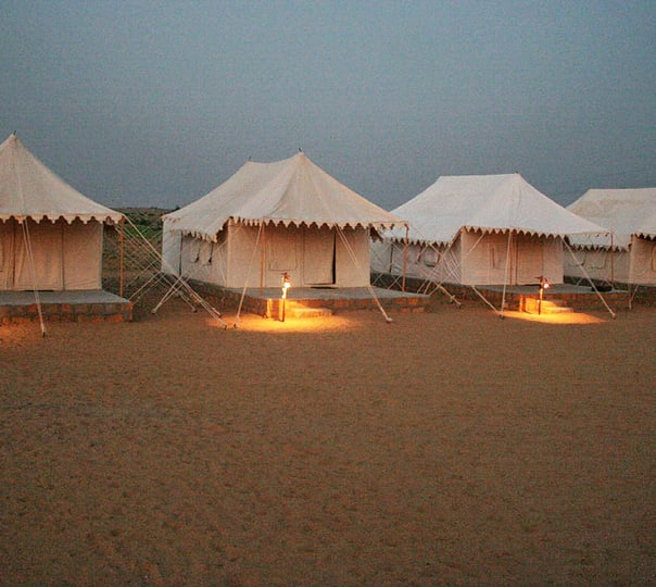 Camping in Swiss Tents, Jaisalmer