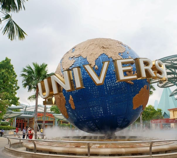 Ticket to the Universal Studio in Singapore