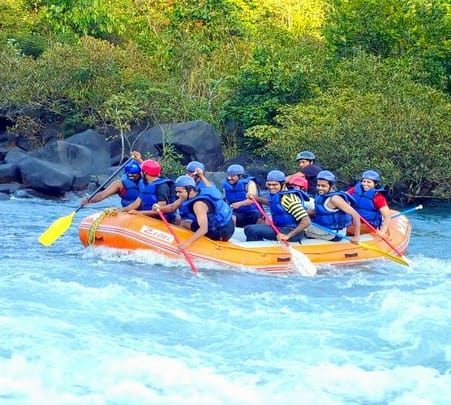Rafting, Activities and Lakeside Stay near Kundalika River