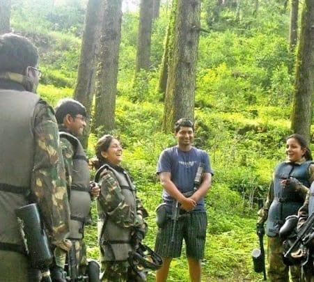Corporate Team Camping and Bon Fire at Kanatal
