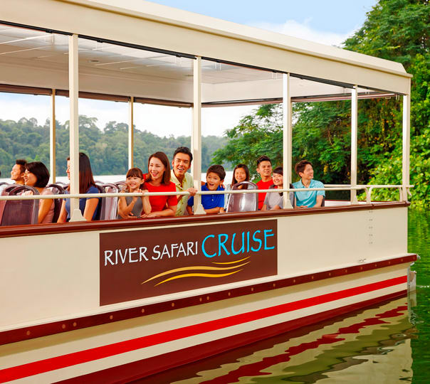 River Safari in Singapore