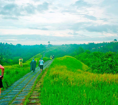 Trekking from Jatiluwih to Tamblingan in Bali