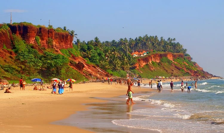 Surf At The Beaches of Varkala