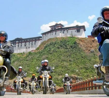 Bhutan Bike Trip Tour from India @₹23,990 Only!