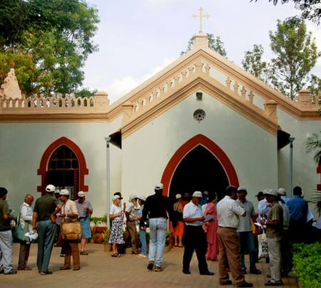 Cathedral Walking Tour, Bangalore