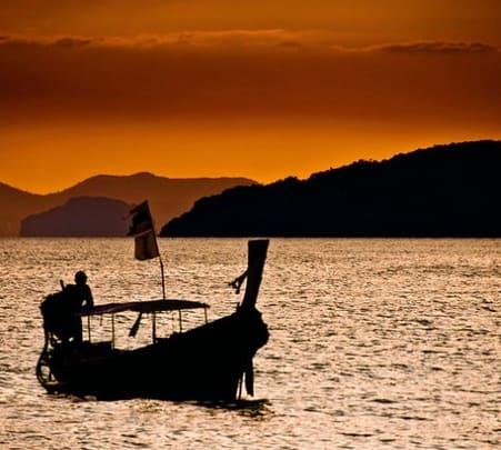 Romantic Sunset Boat Ride, Andaman