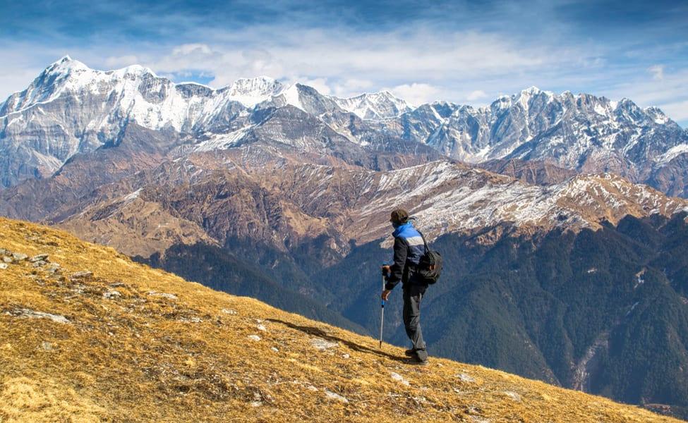How to reach Brahmatal trek