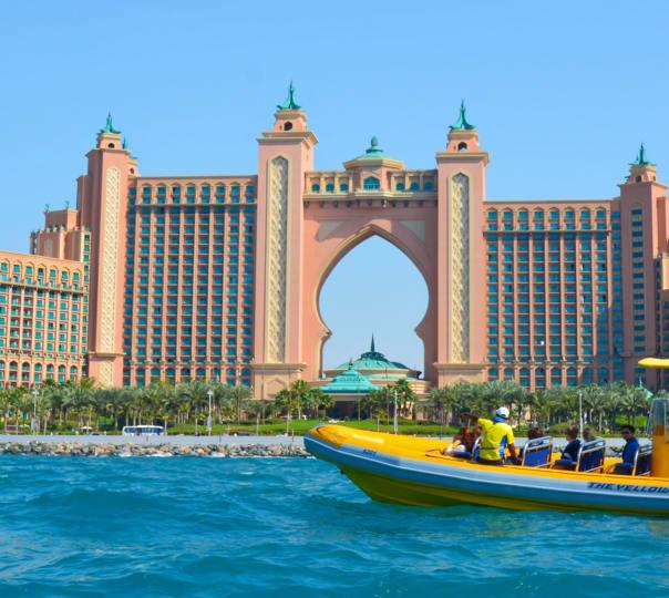Thrilling Boat Ride in Dubai