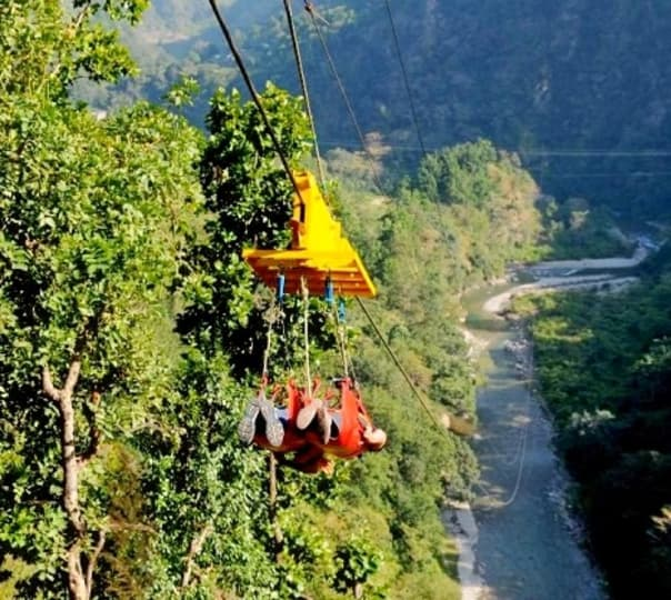 Flying Fox in Rishikesh