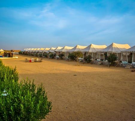 Camping in Jaisalmer with Desert Safari Flat 30% off