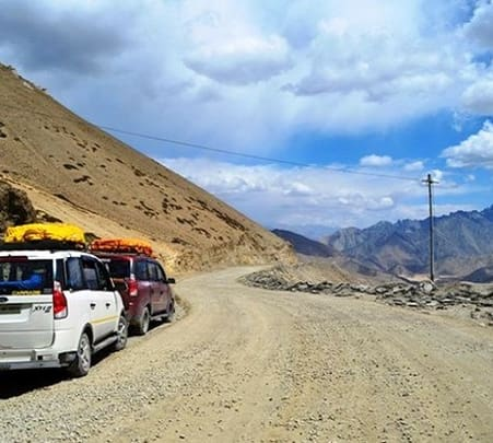 Leh Ladakh Jeep Safari Package from Delhi