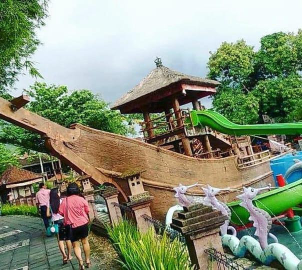 Jungle Hop Adventure at Bali Safari Marine Park