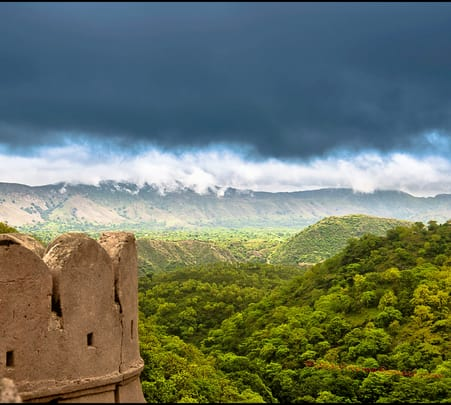 Trekking and Wildlife Walk in Kumbhalgarh Fort and Sanctuary